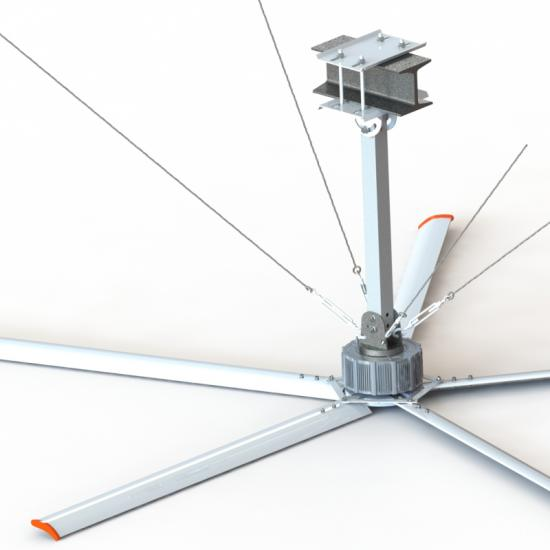 New Technology PMSSM HVLS Industrial Ceiling Fans